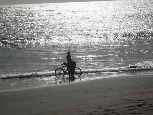 à la plage