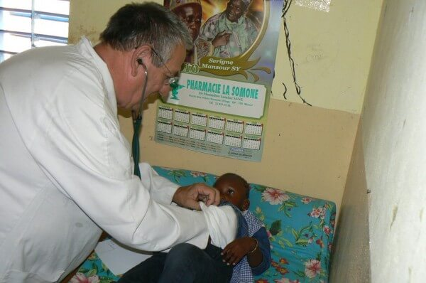 Visite médicale à la Somone