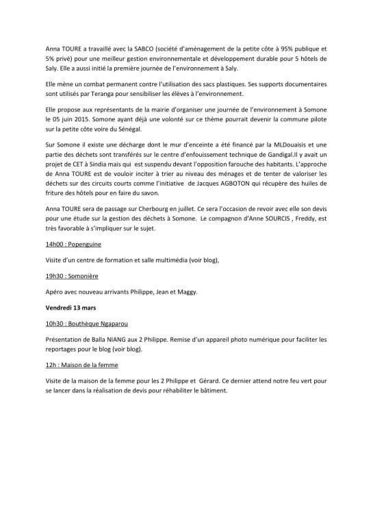 6RAPPORT DE MISSION SOMONE 2015