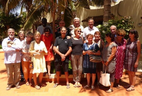 Le groupe TERANGA  à Somone