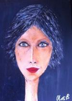 3 . Cécile Barouillet Portrait de femme