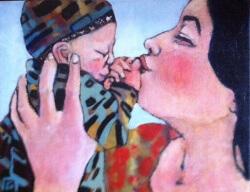 32 . Martine Guegan Premier baiser