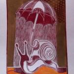 61 . Julien Schuster gravure sur lino