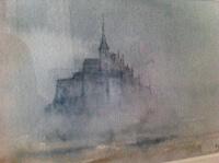 7 . Alain Binet Mont Saint-Michel