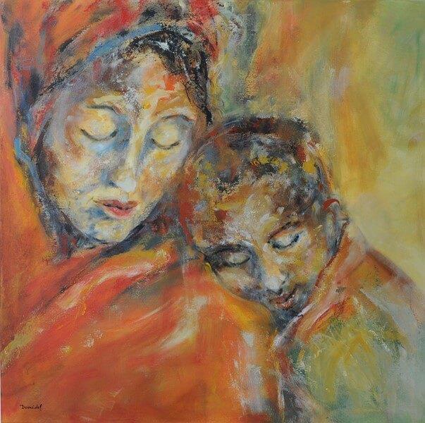 Portrait 80x80 série les mères 1 [1600x1200a fil]