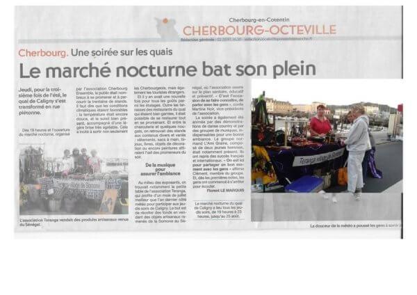Marchés nocturnes  Cherbourg